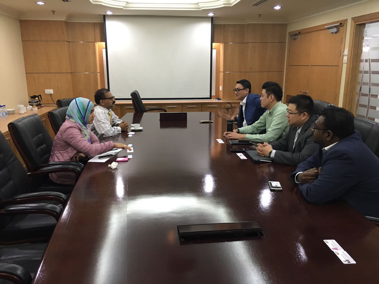 Meeting with MDEC Key Management in Cyberjaya | 30 AUG 2016