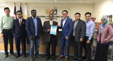 COURTESY VISIT TO MATRADE | 18 NOV 2016